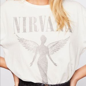 Free People Nirvana Tee